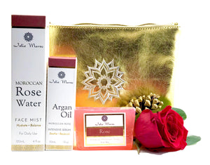 Rose + Argan Holiday Gift Set