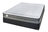 Sealy DRSG IV Springfree Eurotop Plush Mattress Set