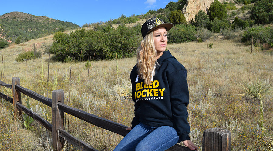 bleed hockey, hockey shirt, colorado hockey, hockey girls, hockey hats