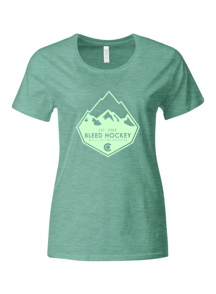 W_Built in the Rockies Tee-LG
