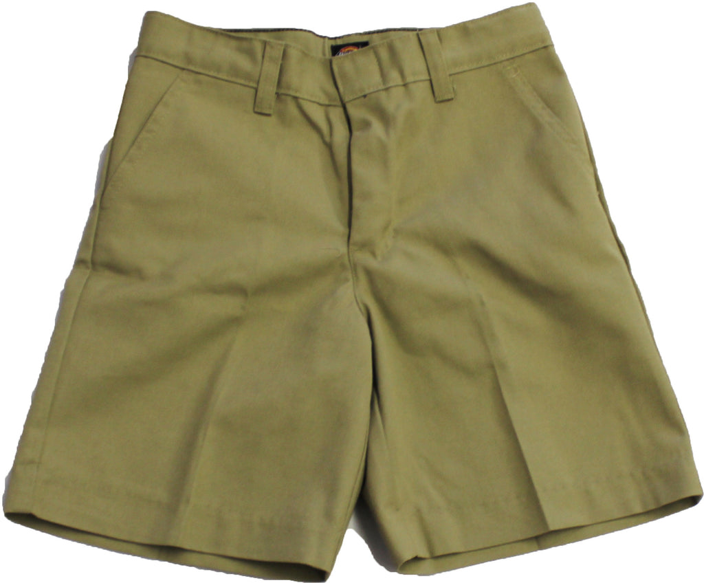Boys' Khaki Shorts Husky