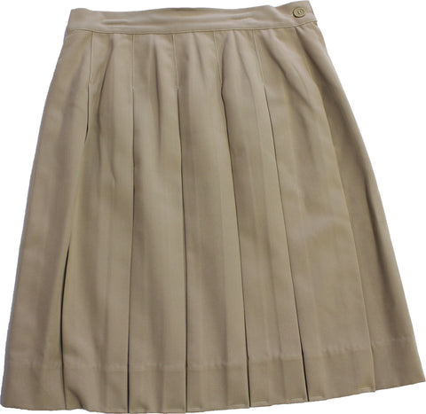 Khaki Dress Skirt