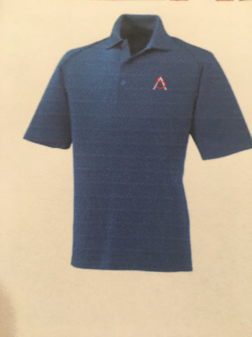 HS Mens Short Sleeve Polo Royal Blue