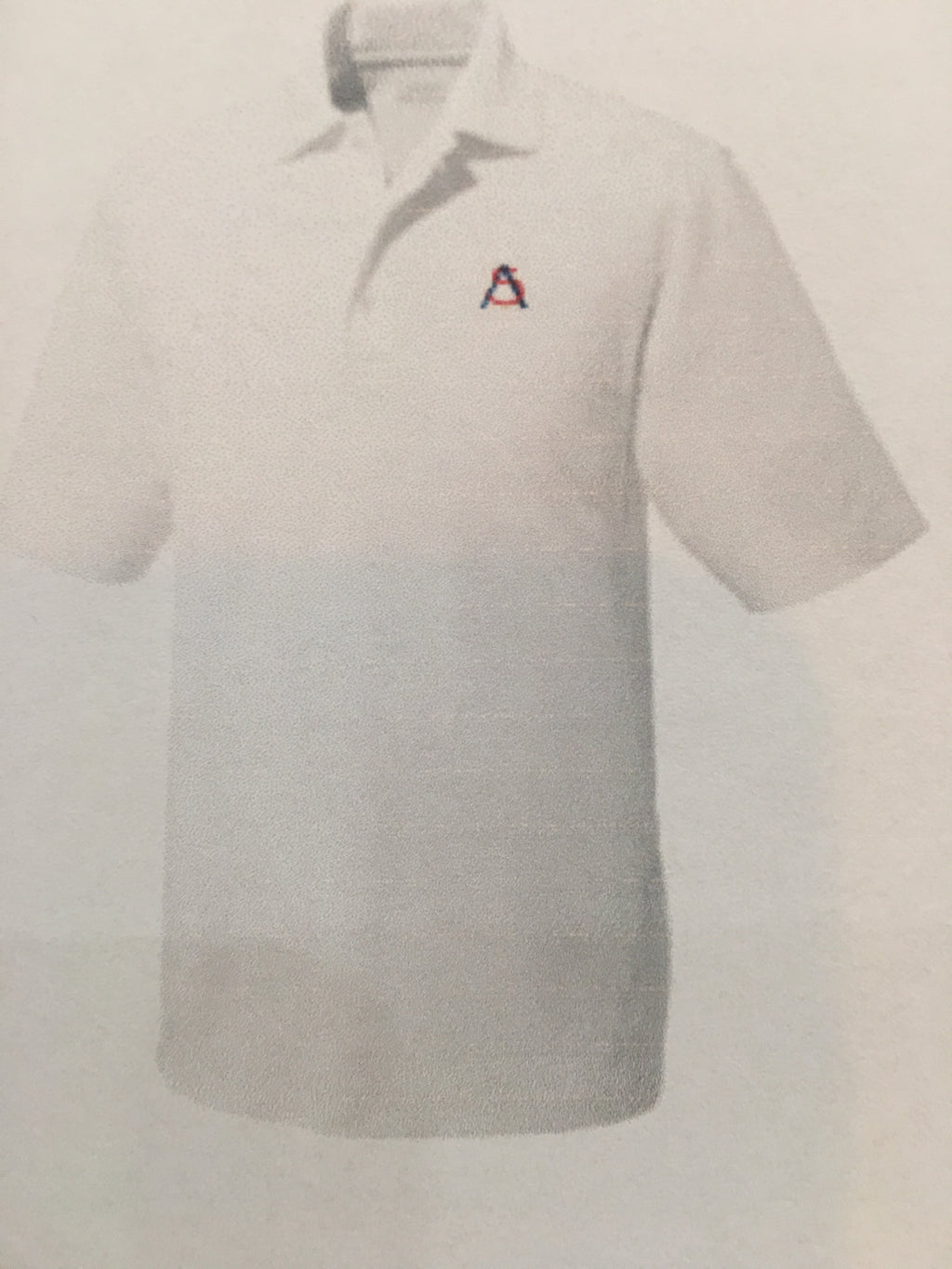 HS Mens Short Sleeve Polo White