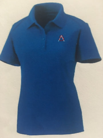 HS Ladies Polo Royal Blue