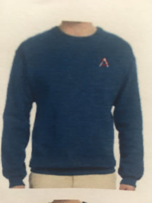 HS Sweatshirt Heather Blue