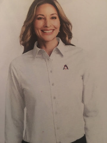 HS Ladies Long sleeve Button Down