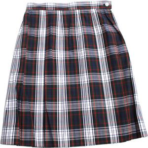 HS Plaid Dress Skirt