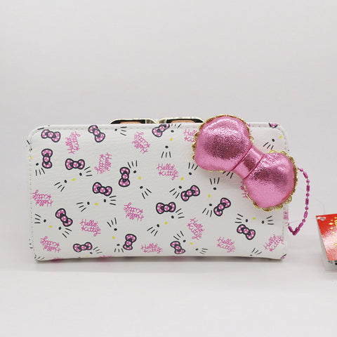 Cat Bow Famous Wallet for Women