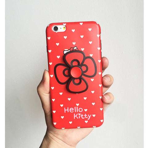 Hello Kitty Spinner Silicone Rubber iPhone case