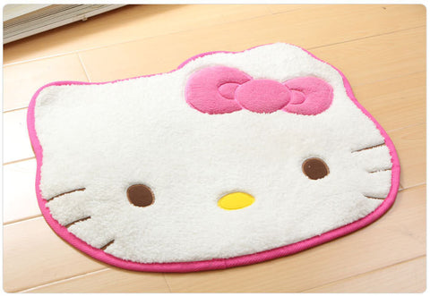 smartypurchase 50X60CM High Fashion Hello Kitty floor mats Non-slip bath Rugs