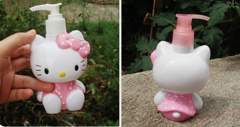 smartypurchase Hello Kitty cute bath liquid bottle