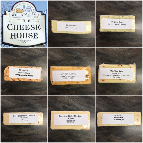 Our Flavored Cheeses