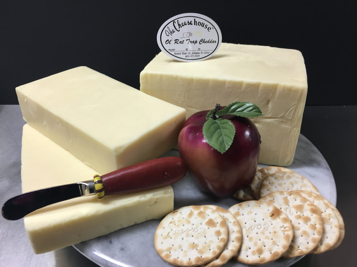 Ol Rat Trap Cheddar – The Cheese House