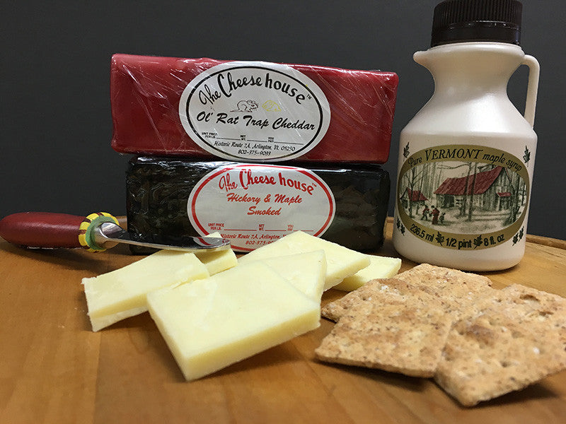 a taste of vermont gift box the cheese house