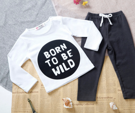 BORN TO BE WILD Clothing Sets