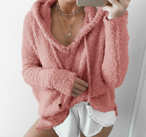 Amanda Fluffy Sweatshirt