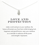 Love and Protection Pendant necklace