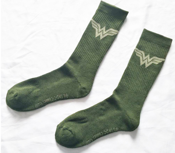 Wonder Woman Logo Socks