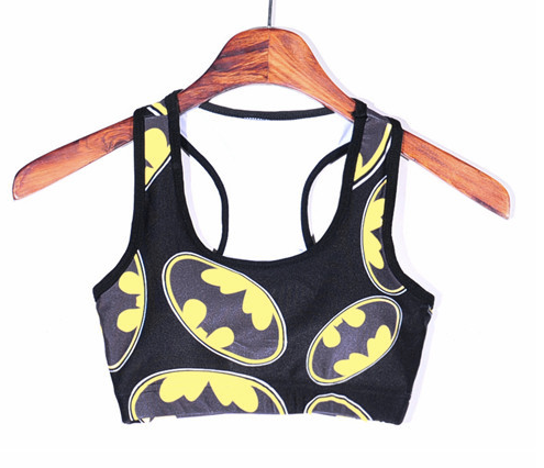 Batman Padded Sports Bra