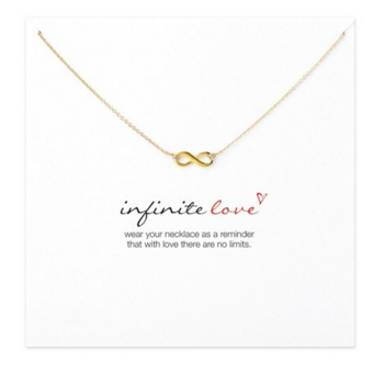 Infinity Love Pendant necklace