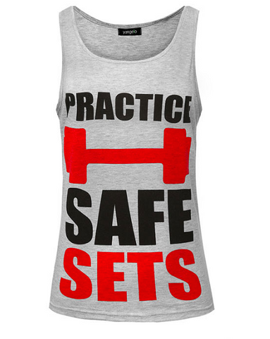 PRACTICE SAFE SETS Tank top