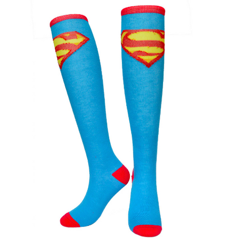 Superman Knee Socks