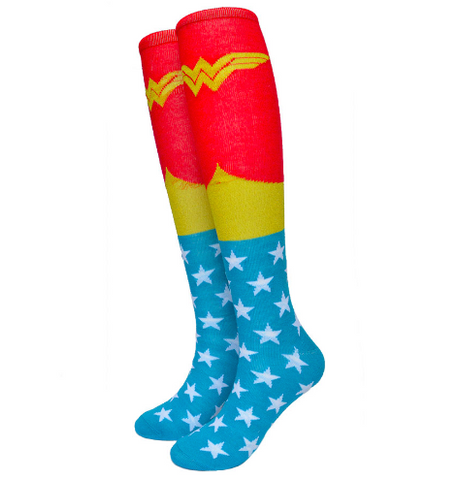 Wonder Woman Knee Socks