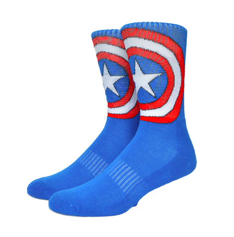 Captain America Mens Socks