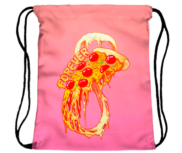 Pizza Forever Drawstring