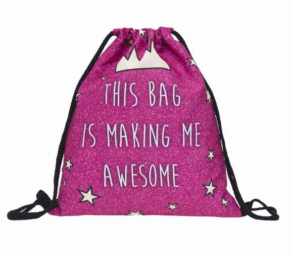 This Bag is Making me Awesome Drawstring
