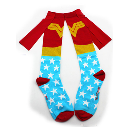 Wonderwoman(a) with Cape Knee Socks