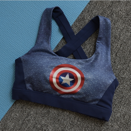 Captain America Sports bra