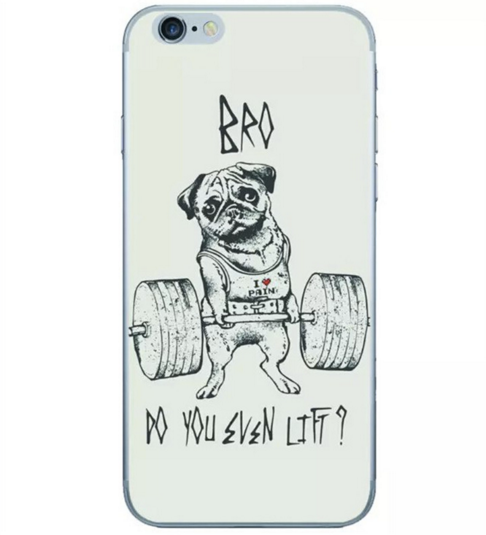 Bro Do you Even Lift? Bulldog Fitness Phone Case