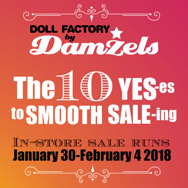 The 10 YES-es To Smooth Sale-ing