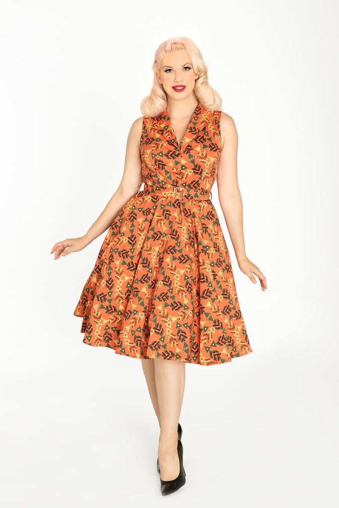 New Mexico Swing Dress