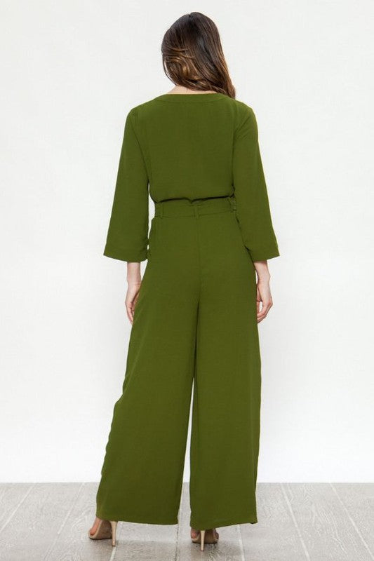 Lean Green Jumpsuit
