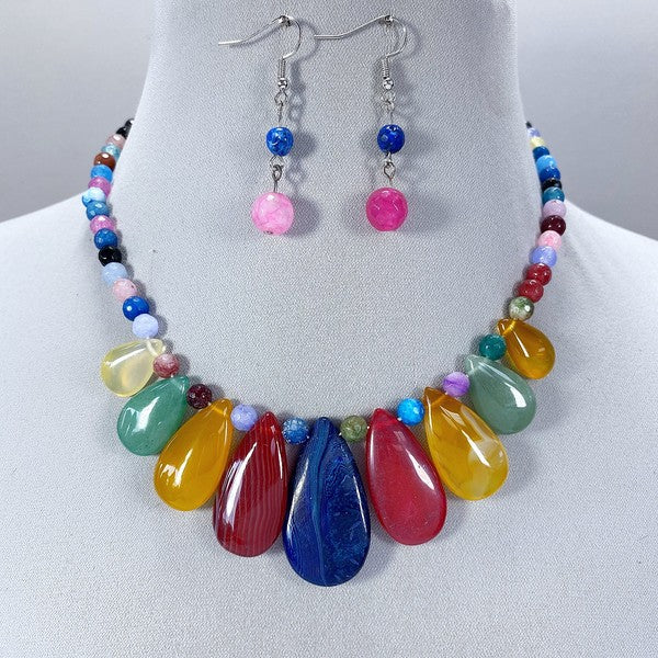 Unicorn Tears Necklace Set