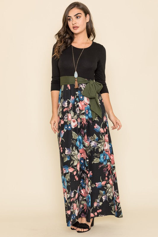 Luxe Lounging Jersey Maxi Dres