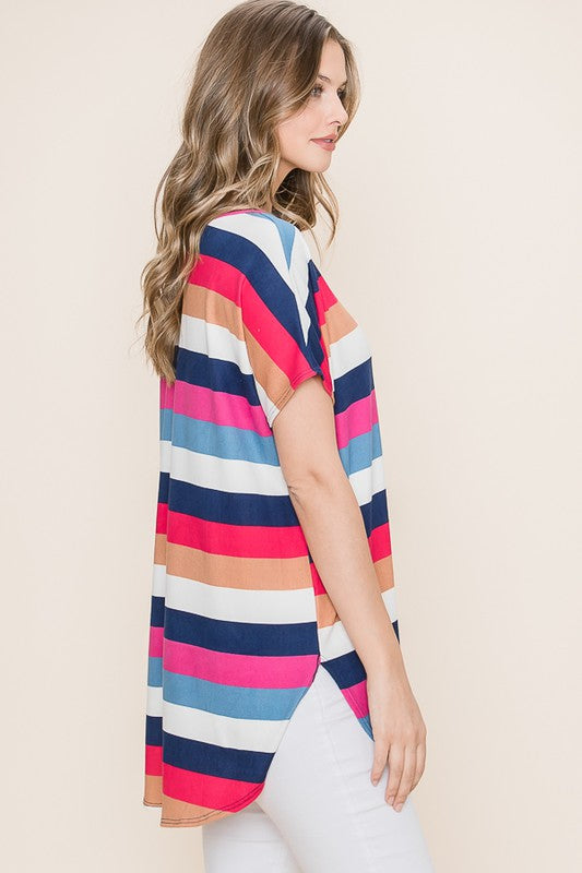 Fruit Stripes Relaxed Tee
