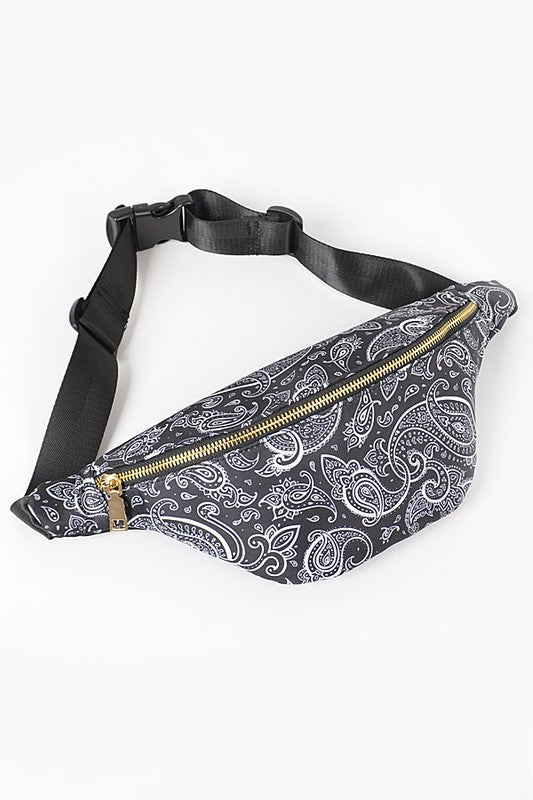 Cowgirl Fanny Pack: Red Bandana