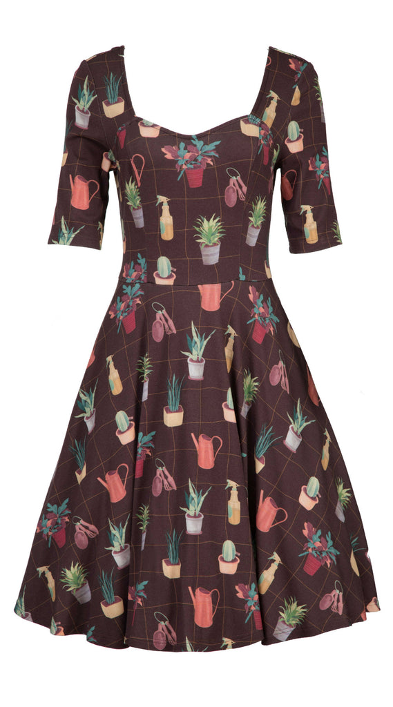 Season Of Succulents Dress