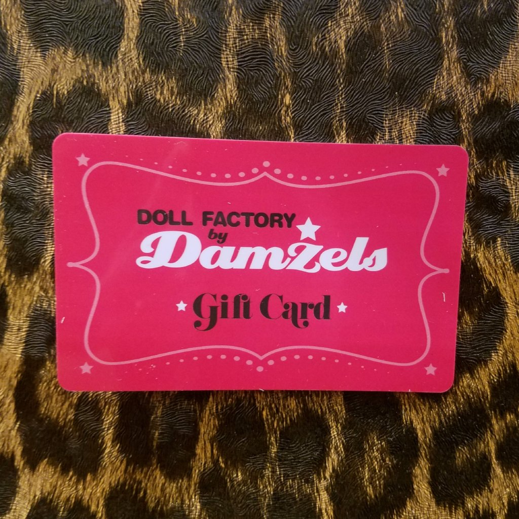 Doll Factory In-Store Gift Cards