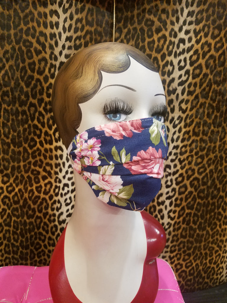 Country Rose Mask w/ Filter Pocket