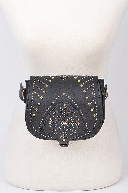 Annie Oakley Studded Fanny Pack