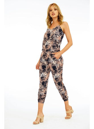 Golden Ferns Jumpsuit