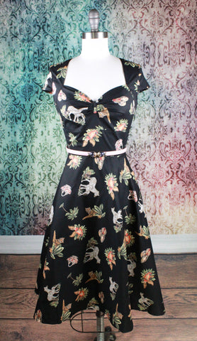 Abstract Jungle Dress