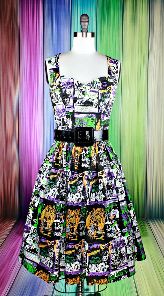 Be Afraid B-Horror Film Dress