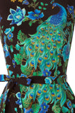 Preening Peacock Dress
