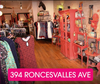 Roncy In-Store Shopping Appointment